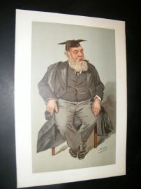 Vanity Fair Print 1901 The High Master of St. Paul's School, London